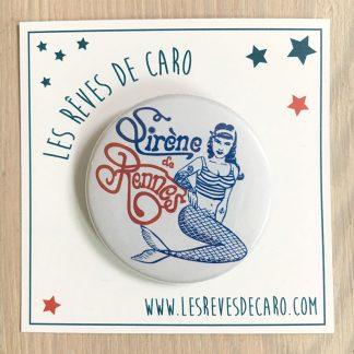 badge cadeau rennes sirène