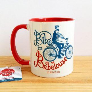 mug velo vintage Babelouse