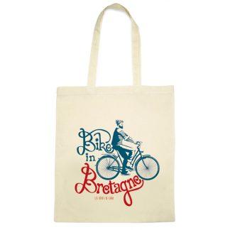 cabas totebag vélo Bretagne