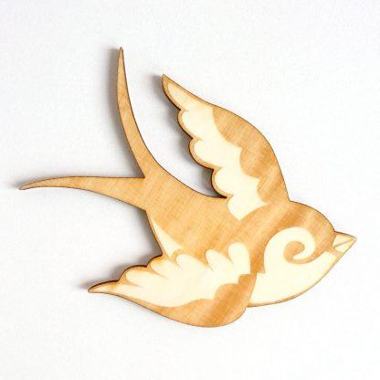 decoration poetique nature oiseau cadeau