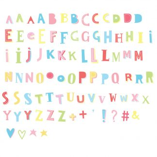 alphabet complementaire boite lumineuse