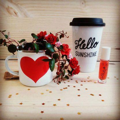 tasse mug café emporter rouge