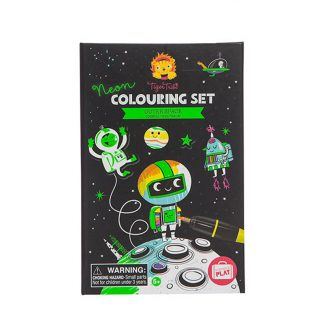 colorier cadeau copain classe fusée espace astronaute