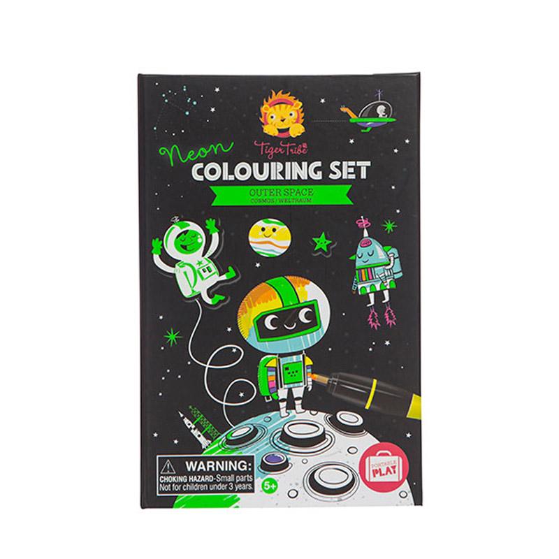 colorier cadeau copain classe fuse espace astronaute