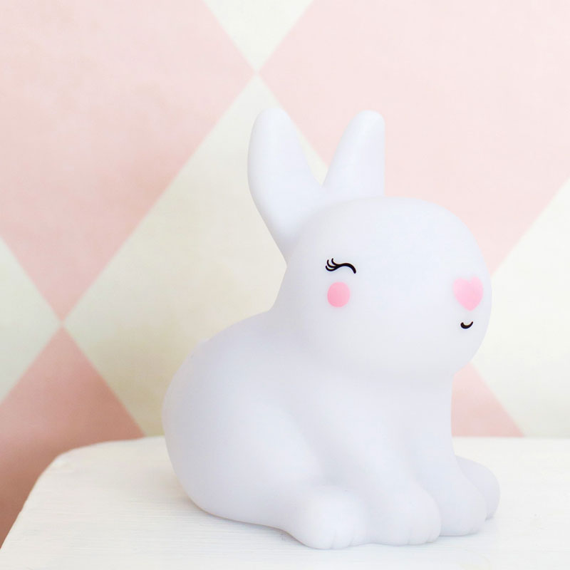 Veilleuse Lapin Bunny A Little Lovely Company La Malle A Confettis