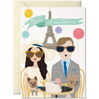 anniversaire de rencontre mariage couple saint valentin chien