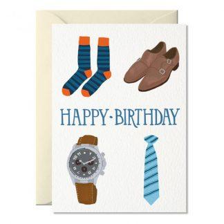 bon anniversaire homme papa carte papeterie