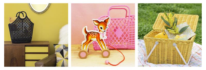 retro rangement décoration cadeau anniversaire enfant femme