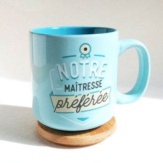 tasse à café cadeau institutrice prof