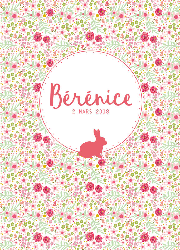 creation graphique bebe bay bunny