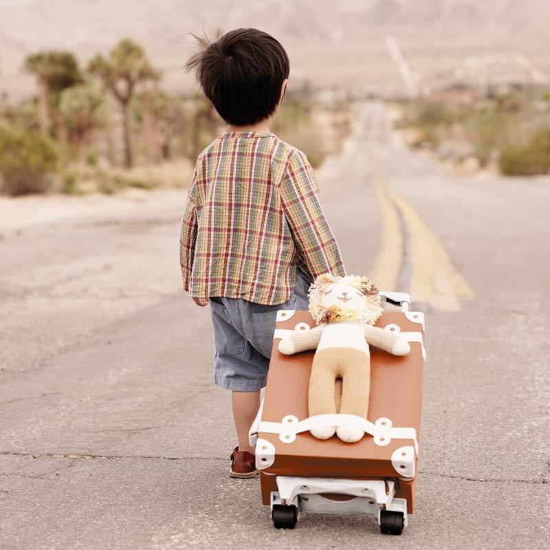 Valise à roulettes See Ya, marron rouille, Olli Ella - La Malle à ... 223047f993ea