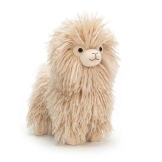cadeau doudou enfant naissance decoration animal sauvage beige
