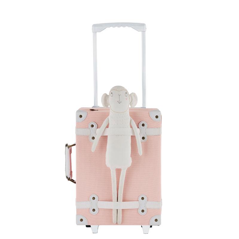 Valise à roulettes See Ya, rose poudré, Olli Ella - La Malle à Confettis d975b18de1fc