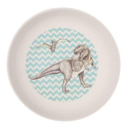 vaisselle enfant graphique dinosaure tyranosaure