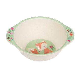 vaisselle enfant repas cadeau manger à table fox