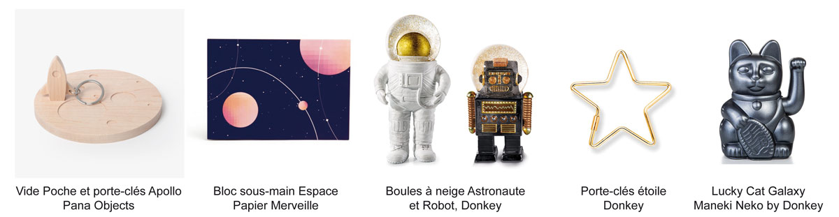 astronaute boule à neige robot decoration home fusee