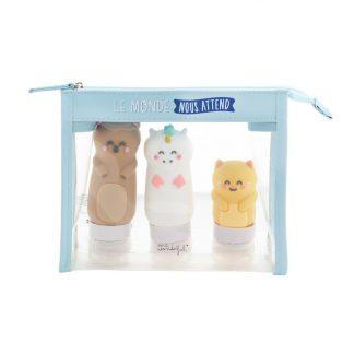 creme savon gel douche shampoing produit beaute vacances valise sac week-end famille bebe