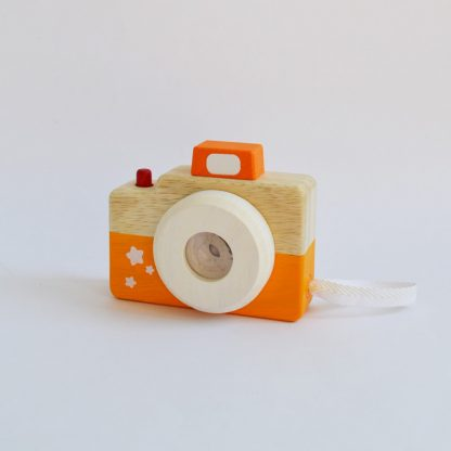 jouet bois enfant bebe cadeau camera observation sens eveil