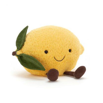 cadeau naissance original doudou fruit agrume lemon