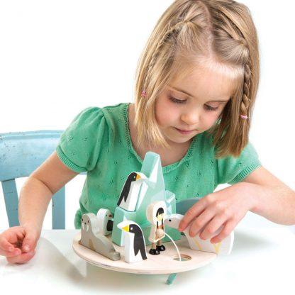 cadeau noel enfant jouet en bois eveil