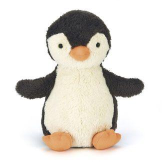 cadeau naissance penguin doudou bebe anniversaire enfant