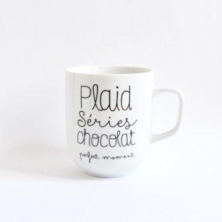 tasse cocooning cadeau noel amie copine tele netflixt addict