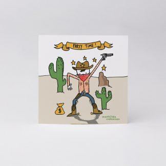 anniversaire fete copian invit indien sheriff Woody desert