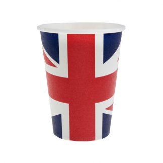 fete party british tea voyage britannique anniversaire verre vaisselle