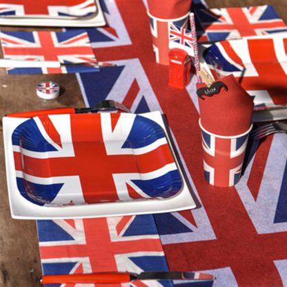 anniversaire party angleterre londres englant royaume uni UK decoration table