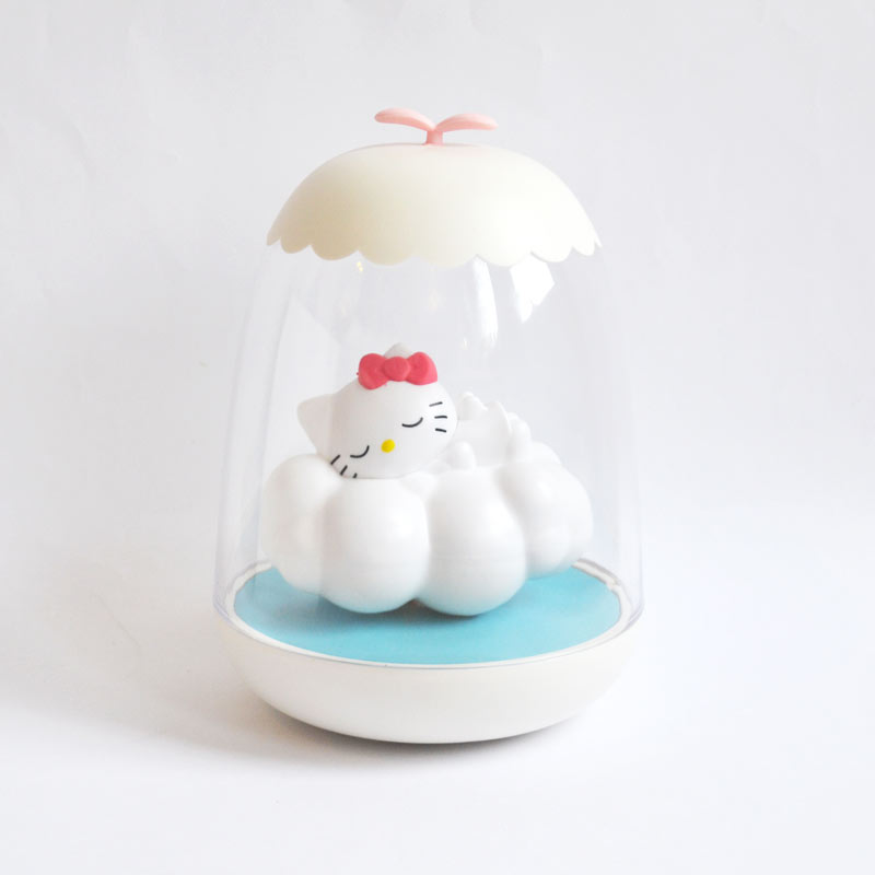 Veilleuse rechargeable petit akio hello kitty nuage la - Decoration hello kitty chambre bebe ...