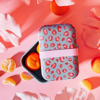 lunch box bambou repas snack gateau biscuit midi balade sport voyage
