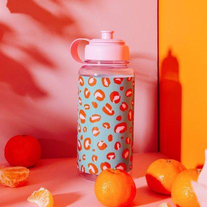 cadeau saint valentin anniversaire fete des meres sauvage design motif animal bouteille reutilisable pratique