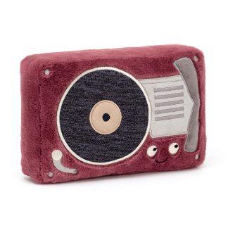 doudou cadeau naissance musique bebe transistor retro baby shower noel mum to be