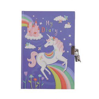 cadeau anniversaire copine secret cahier unicorn fille girly