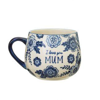 cadeau fete des meres maman thé coffee addict annviversaire floral shabby chic
