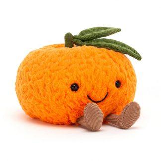 cadeau doudou fruit orange cadeau bebe