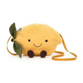 cadeau anniversaire fille pochette jaune orginal mode look fruit