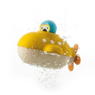 cadeau enfant bebe ecologique yellow submarine