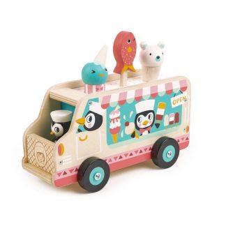cadeau noel enfant anniversaire vehicule dessert ice-cream truck van