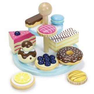 cadeau anniversaire enfant fille noel cuisinier chef donut tarte mille-feuille tea party thé imagination
