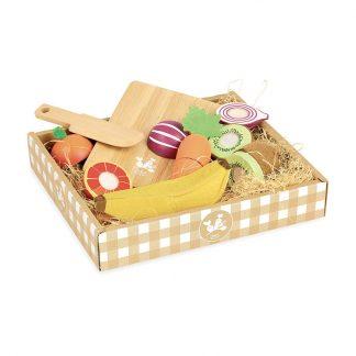 dinette cuisine enfant cadeau noel anniversaire imagination jeu imitation jouet en bois