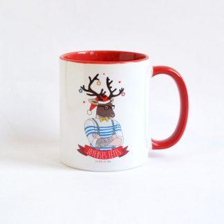 tasse cadeau noel café thé design bretagne breton