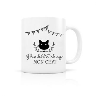 cadeau cremaillere ami anniversaire noel cat lover animal compagnie