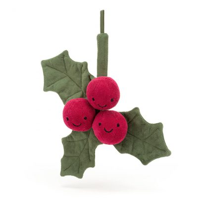 idee cadeau bebe enfant decoration christmas holly doudou