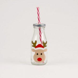 idée cadeau table fete festive premier de l'an boire grenadine jus apéro kid rudolph