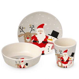 table manger repas bebe fete de fin d'annee decembre christmas