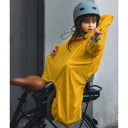 famille cycliste protection pluie vent cadeau