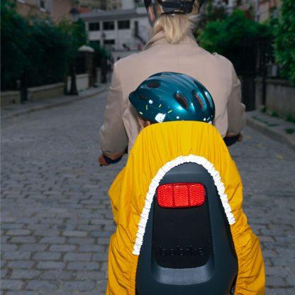 protection pluie visibilite route famille cycliste cadeau