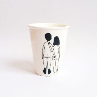 cafe mug design cadeau amoureux saint Valentin