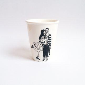 cadeau saint valentin amoureux chérie skate cafe thé mariage cremaillere fiancaille